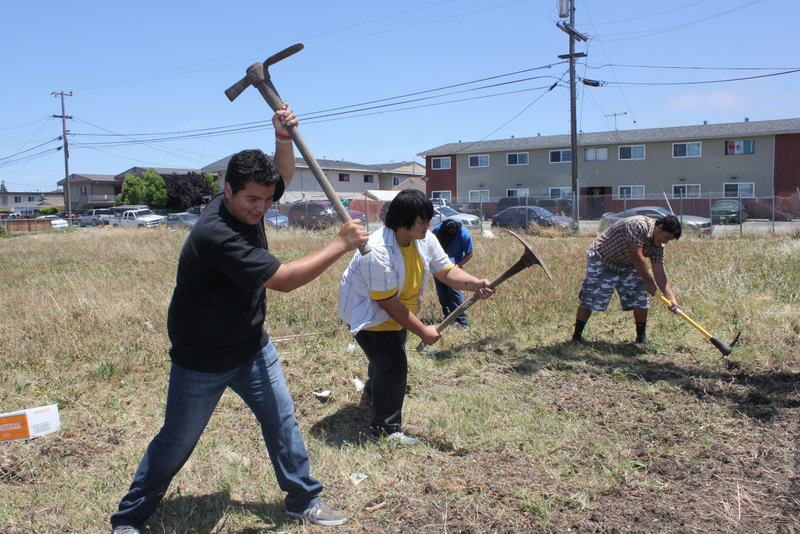 Richmond High Students Bring Life to Vacant Lot