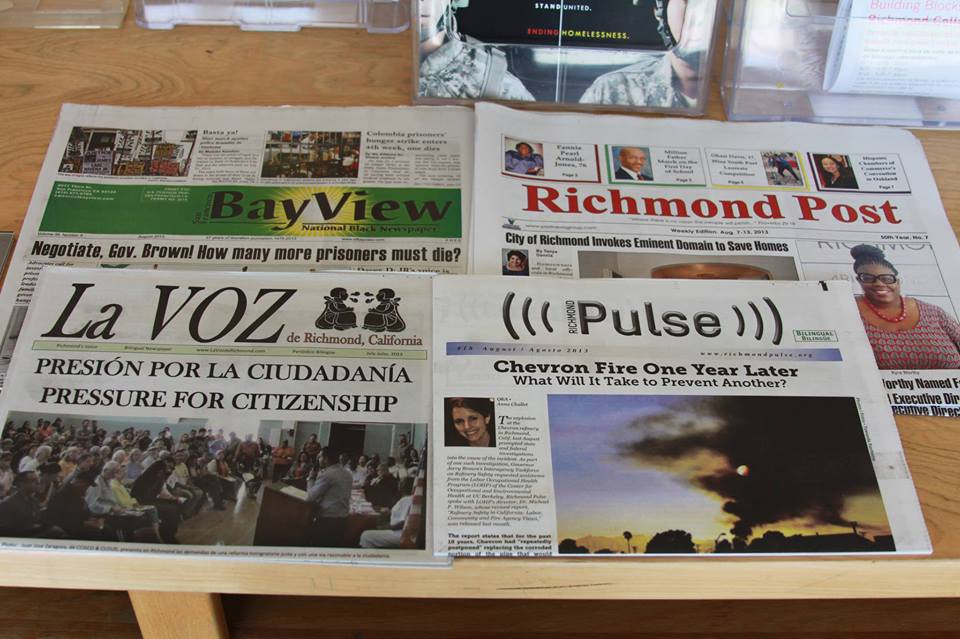 Chevron Joins News Publisher Wars in Richmond