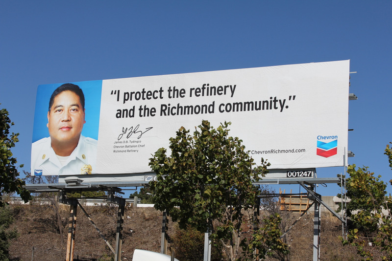 What Do You Make of the New Chevron Billboards? Richmond Youth Weigh In