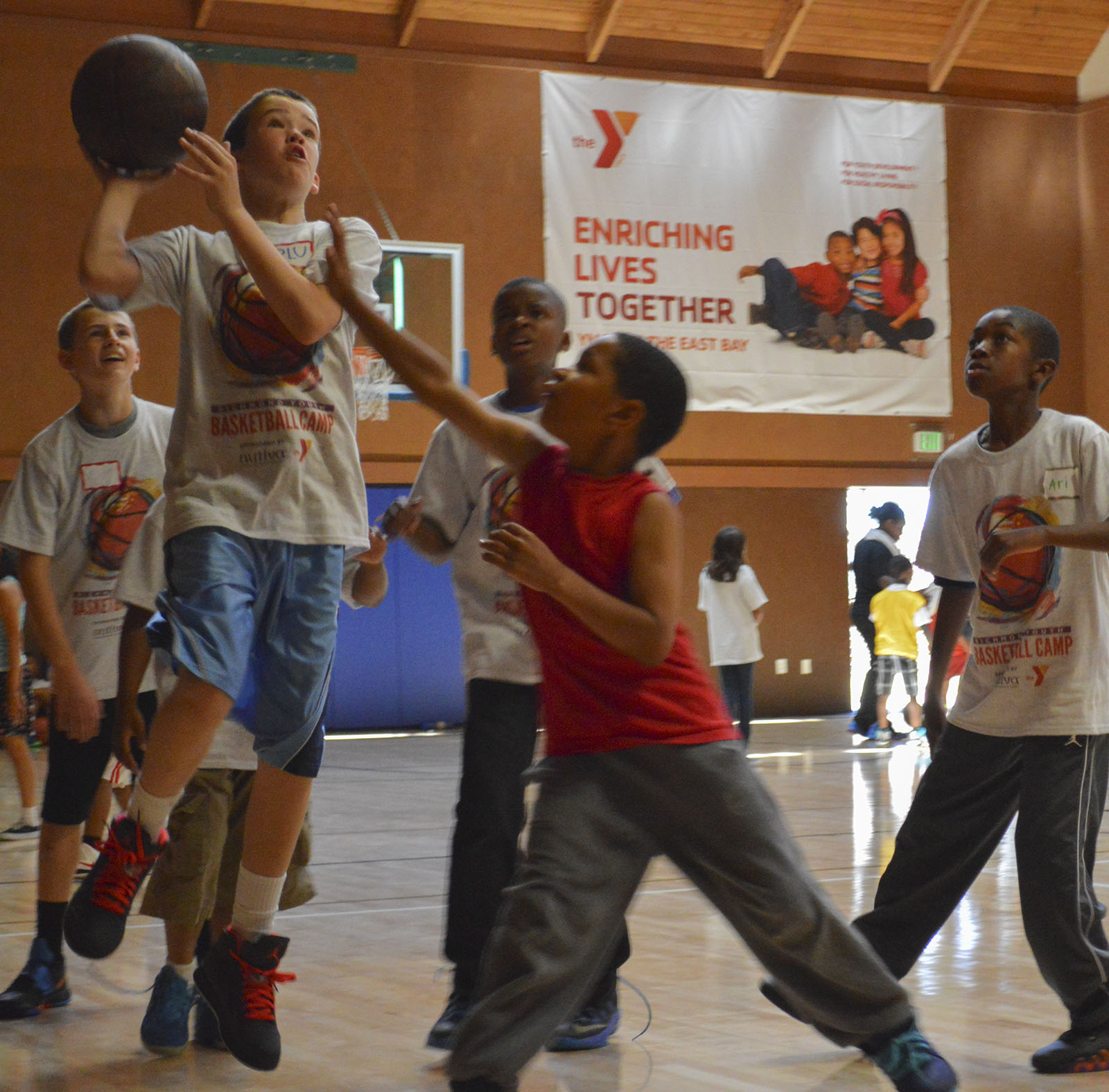 Basketball Camp Offers Healthy Fun for Richmond Kids