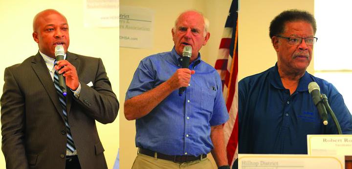 Trío de Candidatos a la Alcaldía Ofrecen a los Votantes Una Elección Distinta