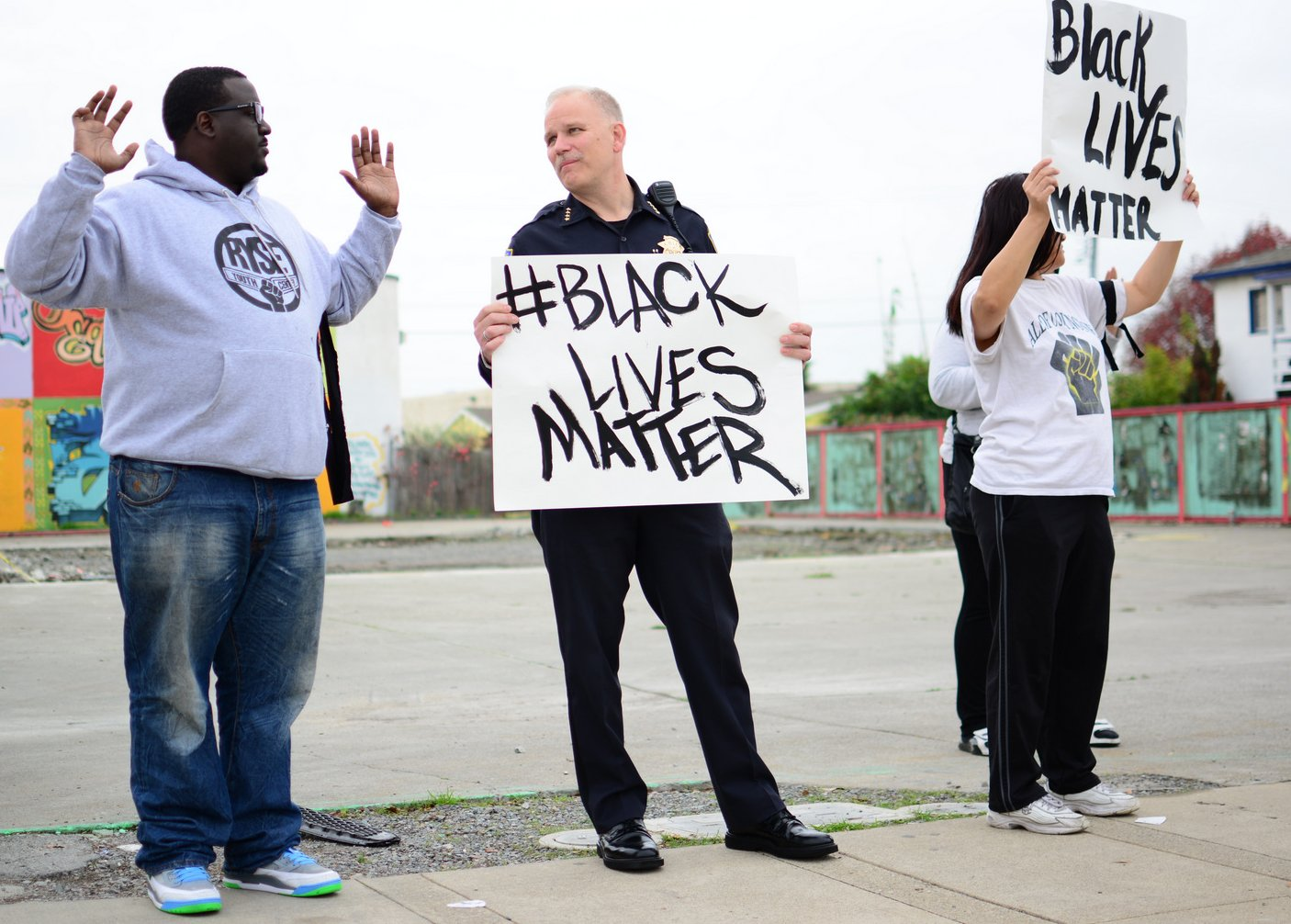 Police Chief Magnus: Why I Joined a Protest Against Police Brutality