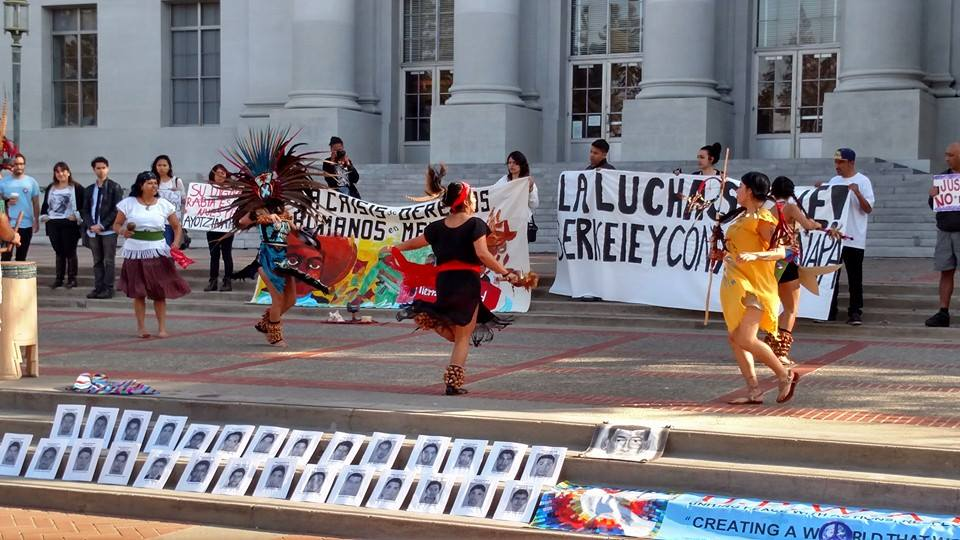 Marching in Solidarity: Bay Area Comes out to Show Support for 43 Missing Mexican Students