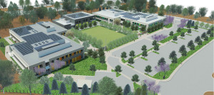 Hilltop School Campus Rendering