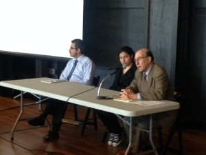 Panelists speak at the Richmond Housing Summit.