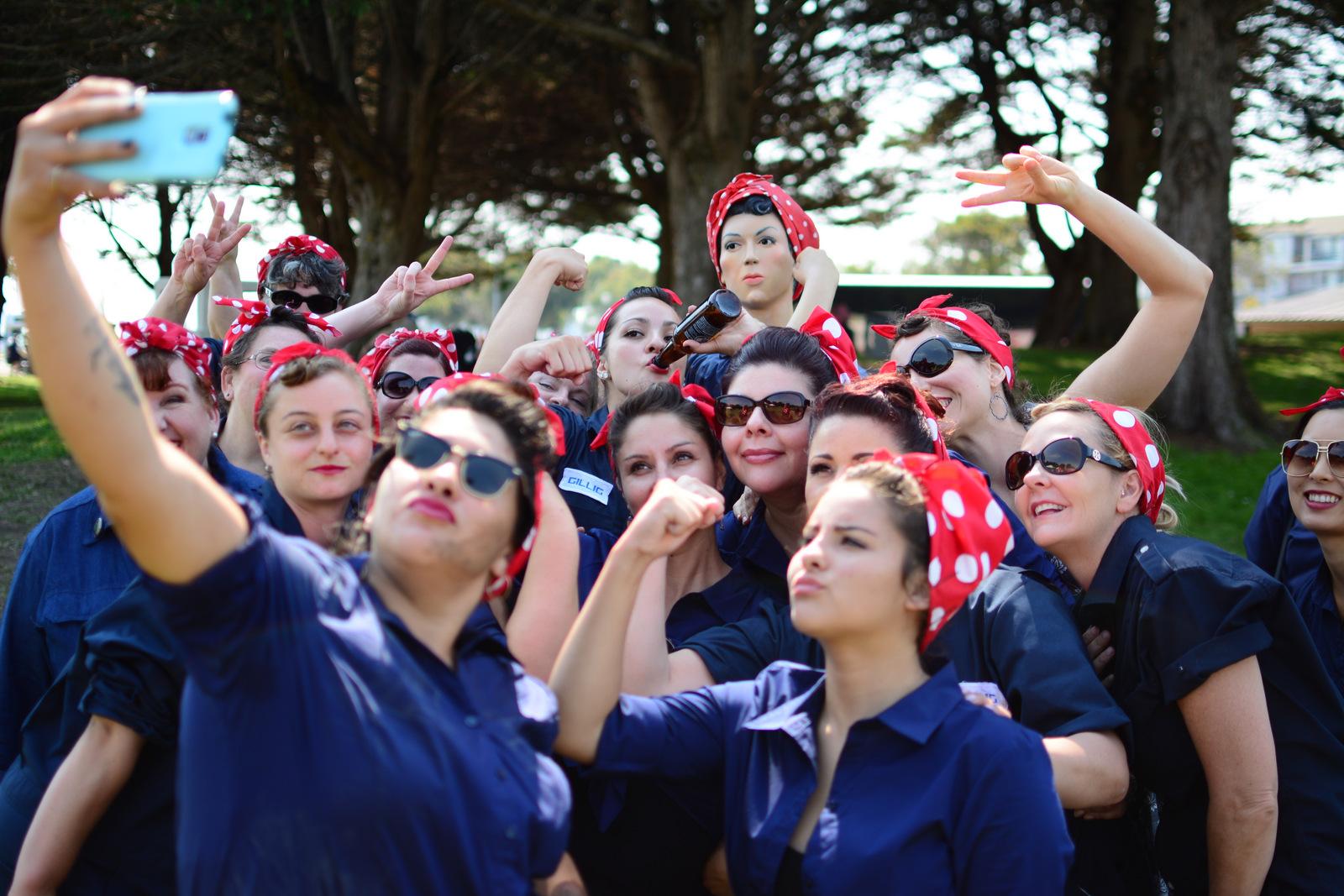 Rosie la Remachadora – Aún Inspirando a las Mujeres en Richmond