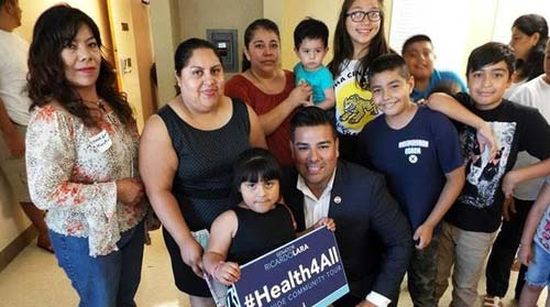 California Governor Signs Health for All Kids Bill