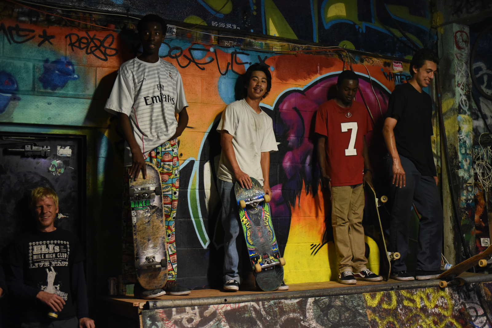 Skateboarders, Punk Bands Show Off Their Tricks at 'Ramp Jam'