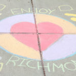 Downtown Chalk Art: Students Draw Dreams of Richmond