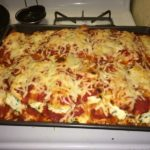 Dinner with Izzy: Baked Spinach Manicotti