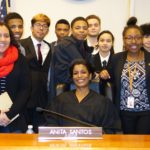 Richmond Students Play Role of Lawyers in Mock Trial