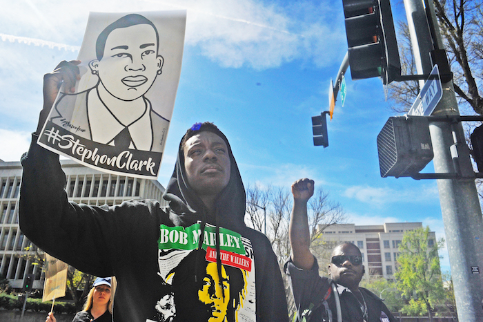 Stephon Clark 'can be anyone's brother and anyone's son'