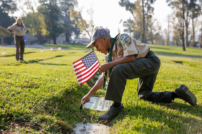 A Flag for Each Veteran