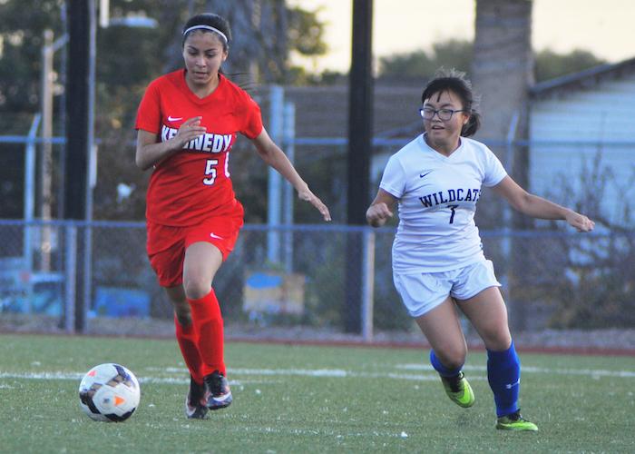 Despite Losing Season, Kennedy JV Soccer Team Gains Experience