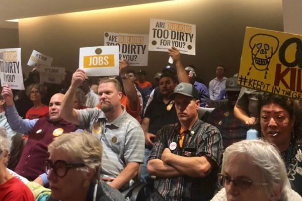 Environmental and Labor Groups Clash Over Coal Ordinance