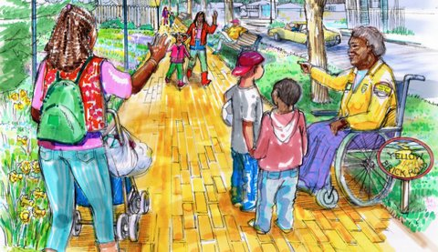 Public Invited To See Final Yellow Brick Road Plans