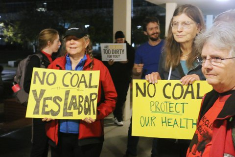 City Council to Vote on Coal Storage Ban