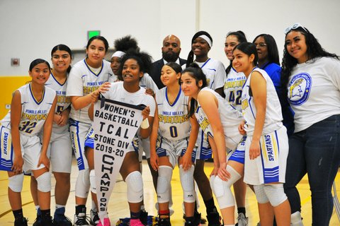 Pinole Valley Girls Clinch TCAL Title