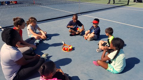 Richmond Tennis Association Expanding Student Lessons