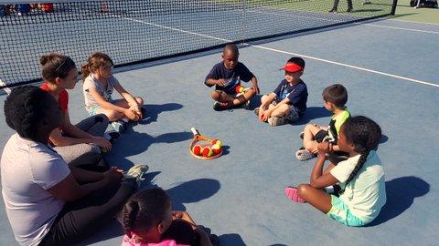 Richmond Tennis Association Expanding Student Lessons