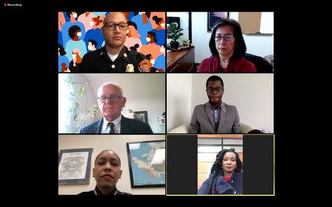 Autoridades de la Ciudad Hablan sobre Respuesta al Coronavirus en Reunión Virtual