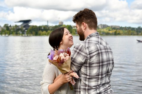 The Pandemic 'Pulled Us Together,' Engaged Couple Says