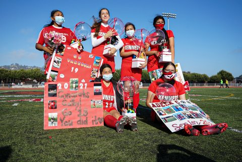 Kennedy Girls Soccer Seniors Reflect After Difficult Year: 'Every Loss Is a Win'