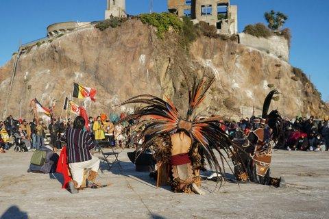 Alcatraz Sunrise Gathering Celebrates Tradition of Resistance